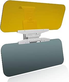Beinhome Car Sun Visor Extender 2 in 1 Anti-Glare Visor Sun Blocker for Day and Night Driving Universal Fit for All Cars, SUVs, Trucks