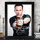 Jason David Frank Mighty Morphin Power Rangers Autograph 8x10 Photo Reprint #52 Special Unique Gifts Ideas for Him Her Best Friends Birthday Christmas Xmas Valentines Anniversary Fathers Mothers Day
