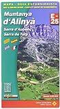 MUNTANYES D'ALINYÀ (SERIE E 25 - 1/25.000)