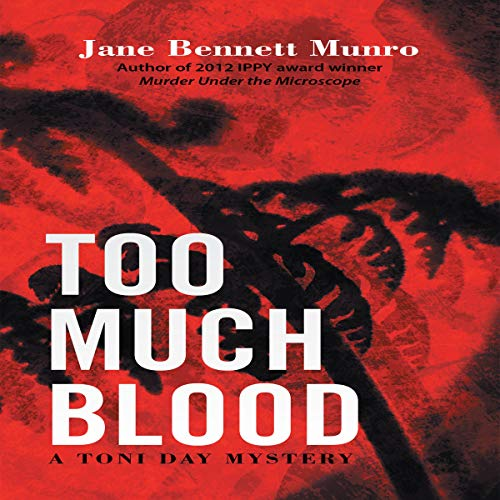 Too Much Blood audiobook cover art