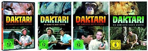 Daktari - Staffel/Season 1+2+3+4 * DVD Set