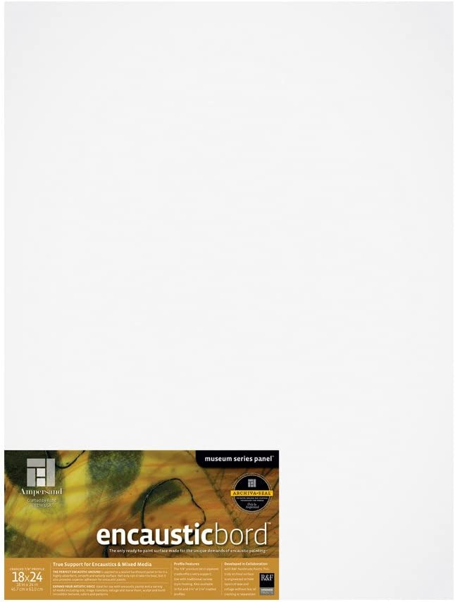 Ampersand Encausticbord Hardboard Now free shipping Panel for Mixed Encaustics and Cheap mail order specialty store