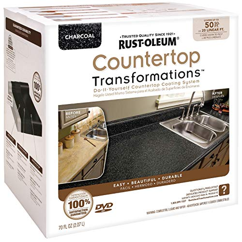 Rust-Oleum Countertop Transformations Kit, Large Kit, Charcoal