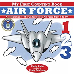 My First Counting Book: Air Force by [Cindy Entin]
