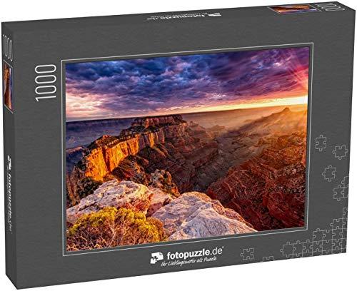 Puzzle 1000 Teile Nordrand des Grand Canyon Cape Royal - Klassische Puzzle, 1000/200/2000 Teile, in edler Motiv-Schachtel, Fotopuzzle-Kollektion 'USA'