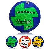Pelota de balonmano Nuage 3 tamaños Niños Juventud Mujeres (#1, Azul Amarillo)