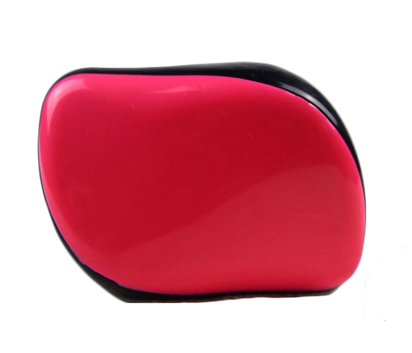 減る着陸極貧Maltose 絡まないヘアブラシ くし 絡まない頭皮ケア ブラシ ヘアブラシ からまない 旅行用 静電気防止 4色 (赤)