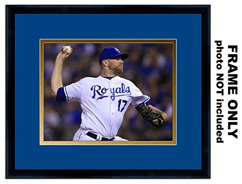 Sports Illustrated Magazine Frame - with Kansas City Royals Colors Double Mat
