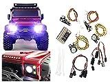 ARUNDEL SERVICES EU Kit de luces LED para Traxxas TRX4 Kit de luces de carretera TRAXXAS LAND ROVER...