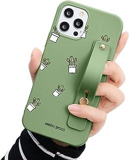 جراب حزام يد Yoedge لهاتف Huawei P40 lite E (4G) / Y7P / Honor 9C مع حامل قابل للطي، غطاء حامل حزام معصم قابل للتعديل ممتص...