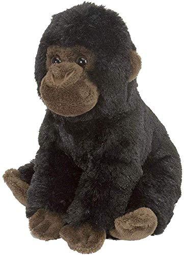 Wild Republic 15311 Plüsch Baby Gorilla, Cuddlekins Kuscheltier, Plüschtier, 20cm