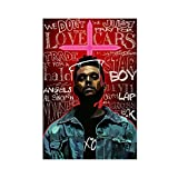 Leinwand-Poster, Motiv: The Weeknd Singer (The Weeknd