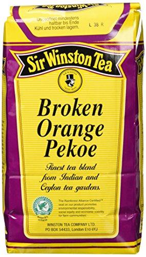 Sir Winston Broken-Orange-Pekoe Schwarztee, 1er Pack (1 x 500 g Packung)