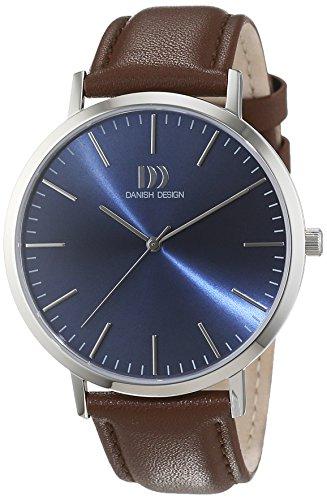 Danish Design Herren-Armbanduhr Analog Quarz Leder 3314509