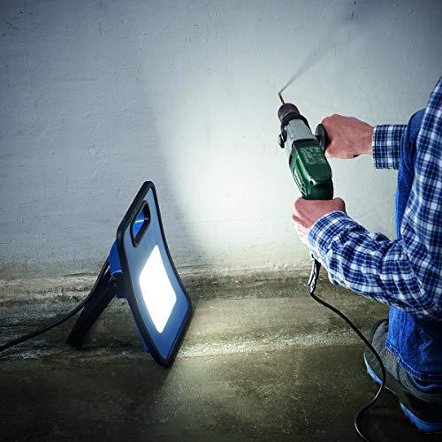 Northpoint Profi LED Arbeitsstrahler Baustrahler 30W 3000 Lumen rückseitige Steckdose 3m Netzkabel - 2