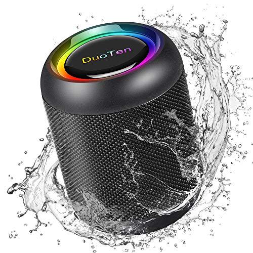 IPX7 Waterproof Shower Speaker DuoTen Bluetooth Wireless...