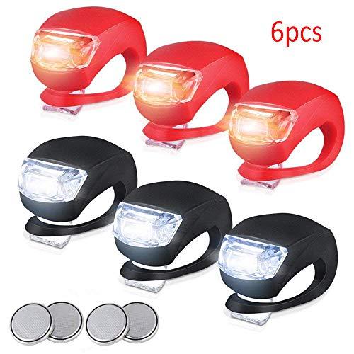 promise2301 Mountainbike Kever Kikker Lamp Siliconen Koplamp Achterlichten Waarschuwing Licht Fiets Riding Apparatuur Accessoires