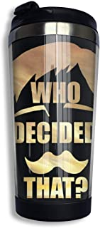 Anime & Escanor ¨C Lion¡¯s Sin Of Pride Of The Seven Deadly Sins Coffee Travel Mug Cup Stainless Steel Vacuum Insulated Tu...