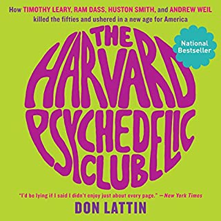The Harvard Psychedelic Club audiobook cover art