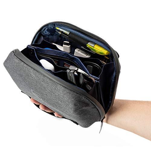 Sterkmann Tech Pouch | Elektronik Organizer | Reiseorganizer Kabeltasche | Kabelorganizer | Zubehörtasche für iPad Mini-Tablet, SD-Karte, USB Flash Drive, Festplatten, Netzteil, Kabel & Kindle