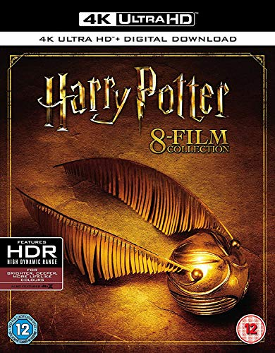 Harry Potter - Complete 8-Film Collection [4K Ultra HD] 2017 Region Free [Blu-ray]