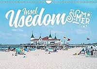 Insel Usedom - It's Summer Time (Wandkalender 2022 DIN A4 quer): Sommer auf der Insel Usedom (Monatskalender, 14 Seiten )