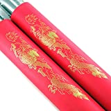 Sensei David Foam Nunchucks and Online Training Videos/Nunchaku for Practice and Beginner Foam Nunchucks for Kids Training (Red)
