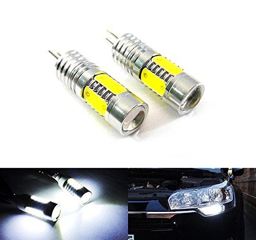 2 bombillas LED de luz blanca HP24W, HPY24W, G4, luz lateral de...