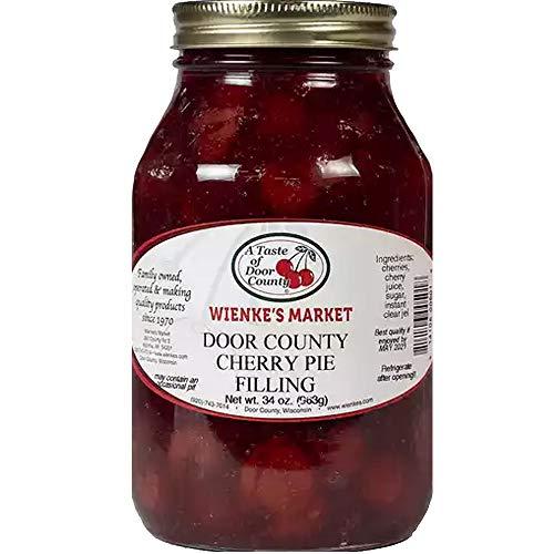 Wienkes Market Montmorency Cherries 34 Ounce (Cherry Pie Fillings)