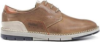 FLUCHOS - Zapato Casual de Cordones, Plano, Suela de Goma, cuña pequeña, para: Hombre