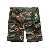 Backbone Mens Army Tactical Military Cargo Shorts Work Fishing...
