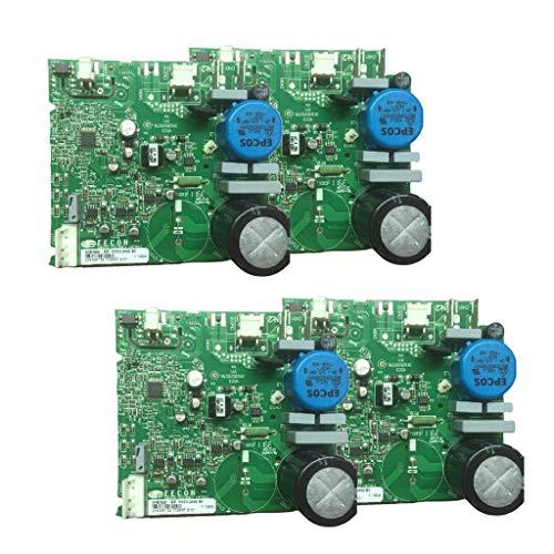 Shiwaki Tablero para Refrigerador Haier 2456 95 Inversor Tablero de Controlador Enchufe Universal - Tal como se Describe, 4pcs