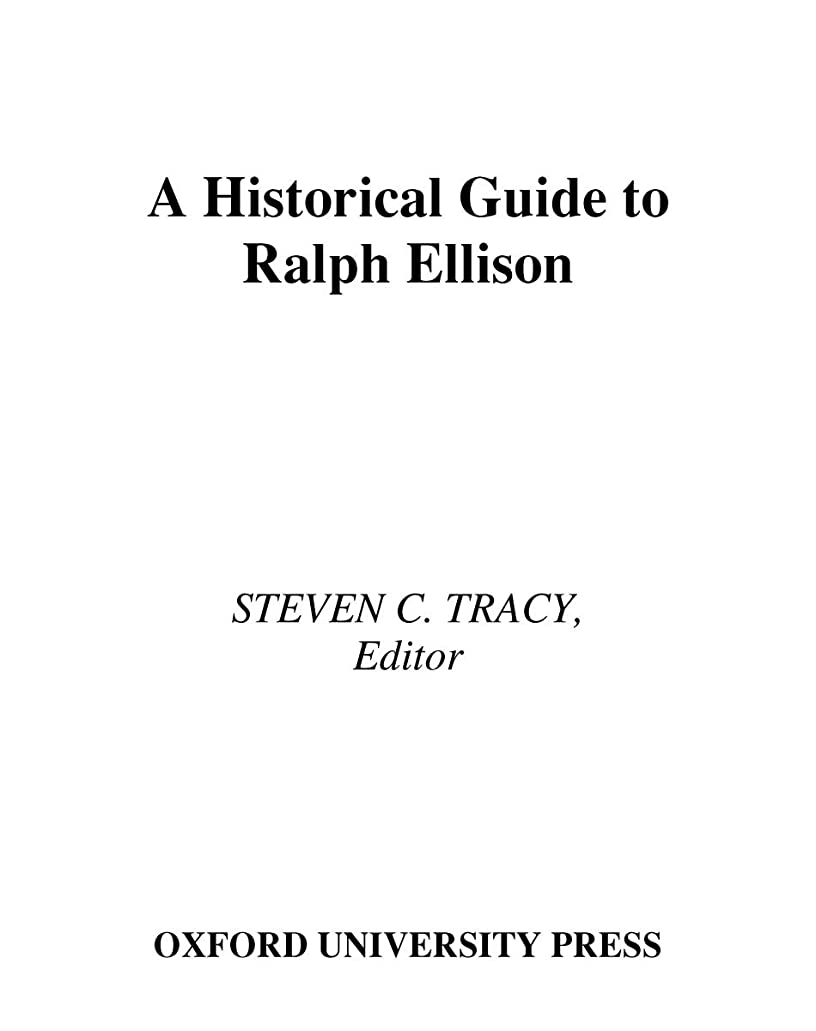 かき混ぜる通訳気を散らすA Historical Guide to Ralph Ellison (Historical Guides to American Authors) (English Edition)