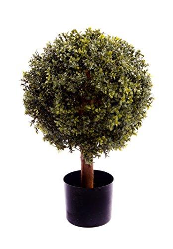 Best Artificial (TM) Natural look 60cm 0,6m bosso Topiary sfera albero UV Fade protetta