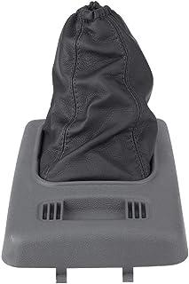 Cubierta a Prueba de Polvo de Duradero de Cuero Artificial con Cubierta de Montaje para Perilla de Cambio para Transit Connect 2006-2012