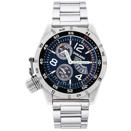 [シーレーン] 腕時計 SE46-MBL シルバー