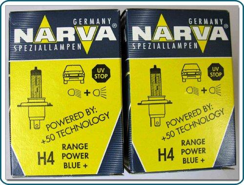 Narva - 2x 48677h412v 60/55w p43t) rpb halógeno