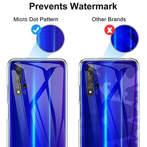 iBetter für Honor 20 Hülle, für Huawei Nova 5T Hülle, Soft TPU Ultradünn Cover [Slim-Fit] [Anti-Scratch] [Shock Absorption] passt für Honor 20 Smartphone, klar - 6