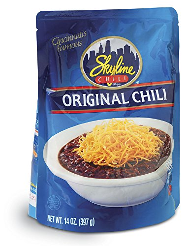 Skyline Chili Original, 14oz Microwavable Pouch (Pack Of 12)