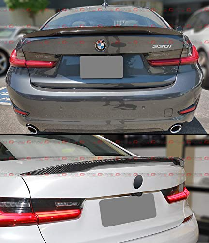 Cuztom Tuning for 2019-2021 BMW G20 330i M340i Performance Style Highkick Real Carbon Fiber Trunk Lid Spoiler Wing