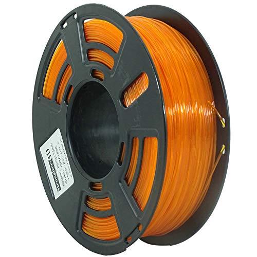 Stronghero3D desktop fdm 3d drucker filament PETG Orange 1.75mm 1kg (2.2 lbs) dimension genauigkeit von + / -0.05mm