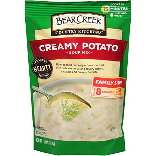 Bear Creek Country Kitchens Soup Mix, Creamy Potato, 11 Ounce