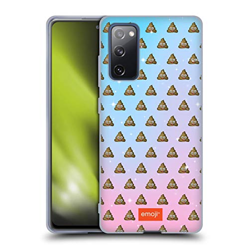 Head Case Designs Officially Licensed Emoji Poop Patterns Soft Gel Case Compatible with Samsung Galaxy S20 FE / 5G