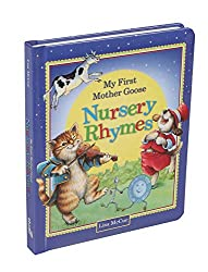 my first mother goose nursery rhymes book cover
