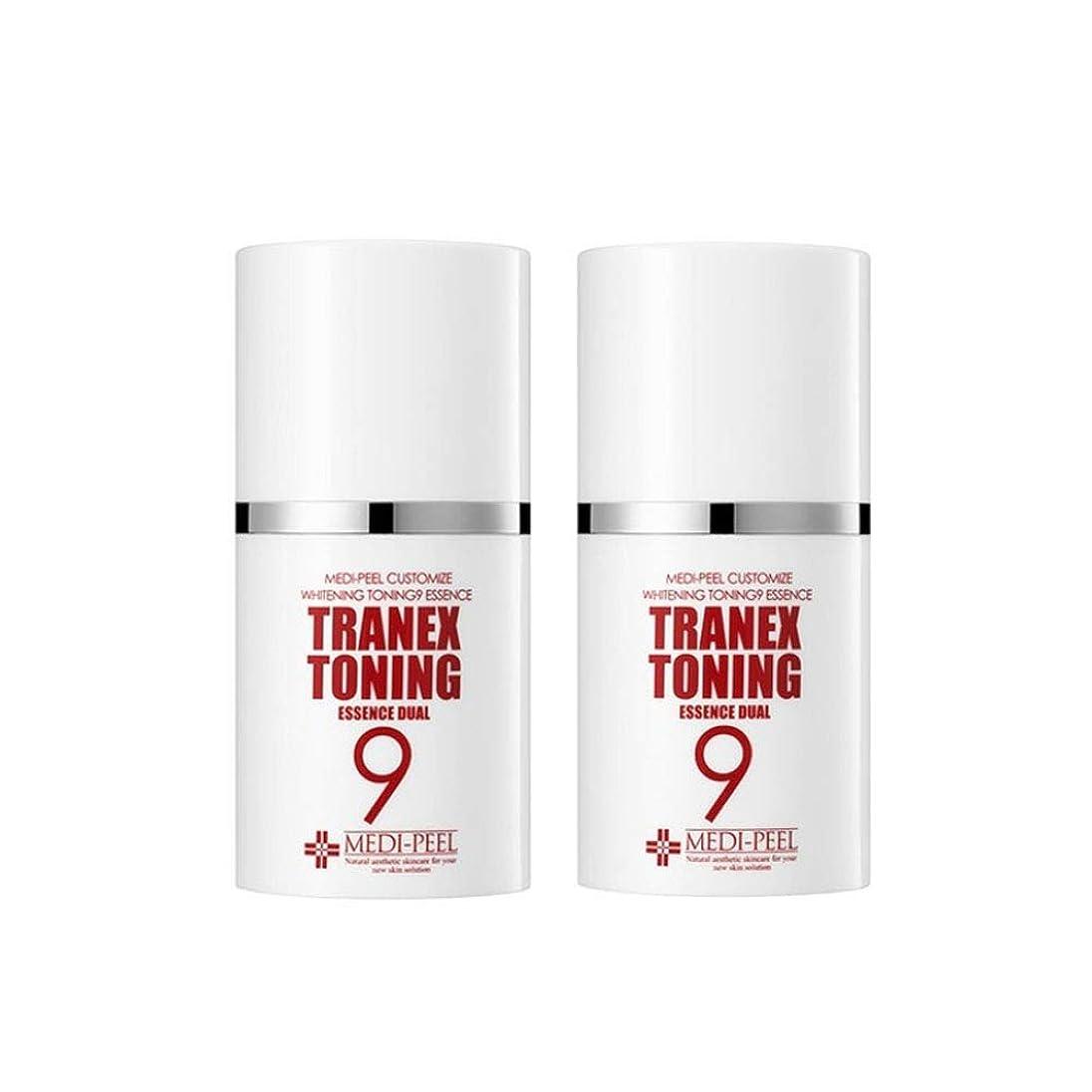 デモンストレーション立法被害者メディピル?トラネック調9エッセンスデュアル50mlx2本セット美白クリーム韓国コスメ、Medi-Peel Tranex Toning 9 Essence Dual 50ml x 2ea Set Whitening Cream Korean Cosmetics [並行輸入品]