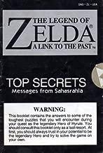 Legend of Zelda - A Link to the Past TOP SECRETS Pamphlet (Super Nintendo Pamphlet Only - NO GAME) (Super Nintendo Pamphlet)