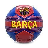 FC Barcelona Officiel - Ballon de Foot avec Blason - Bleu - Taille 4