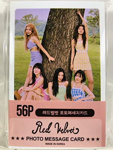 Red Velvet レッドベルベット グッズ / フォト メッセージカード 56枚 (ミニ ポストカード 56枚) セット - Photo Message Card 56pcs (Mini Post Card 56pcs) [TradePlace K-P