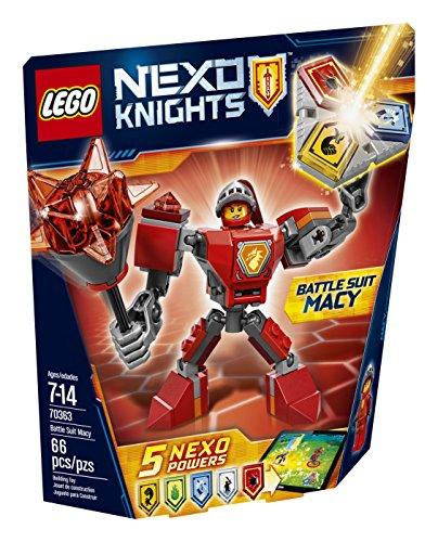 LEGO Nexo Knights Battle Suit Macy 70363 Building Kit (66 Piece)