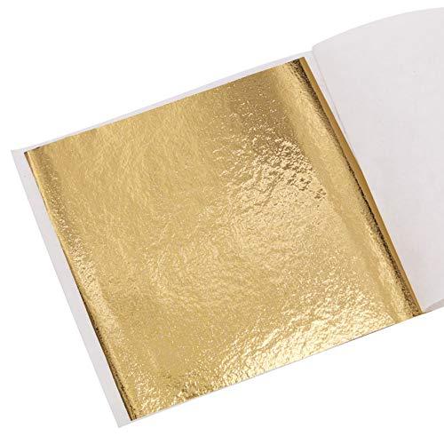 KINNO Pan de Oro de Imitación para Artesanía, Manualidades, Decoración de Muebles...